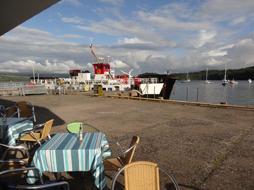 Cafe on the Quay at Tobermory