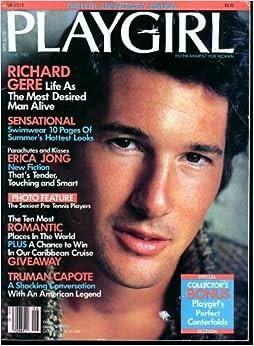 Playgirl Magazine JUNE 1985: beautiful RICHARD GERE cover