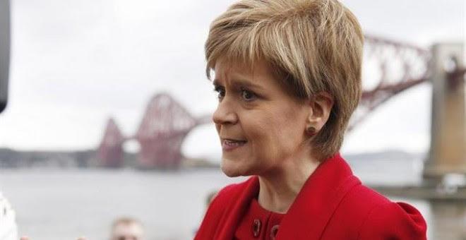 Nicola Sturgeon, ministra principal de Escocia. REUTERS/Russell Cheyne