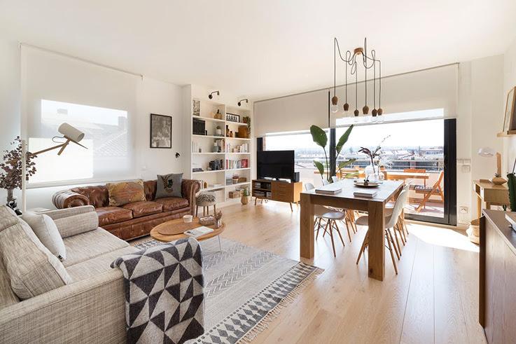 Deco Chaleureuse Dans Un Appartement Moderne Blueberry Home