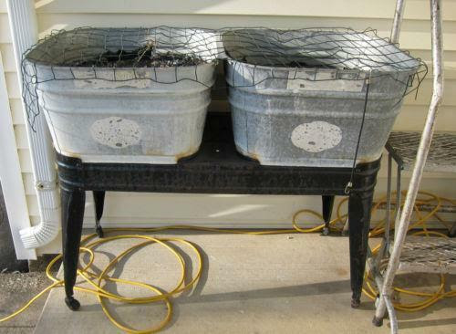 Antique Wash Tub Ebay