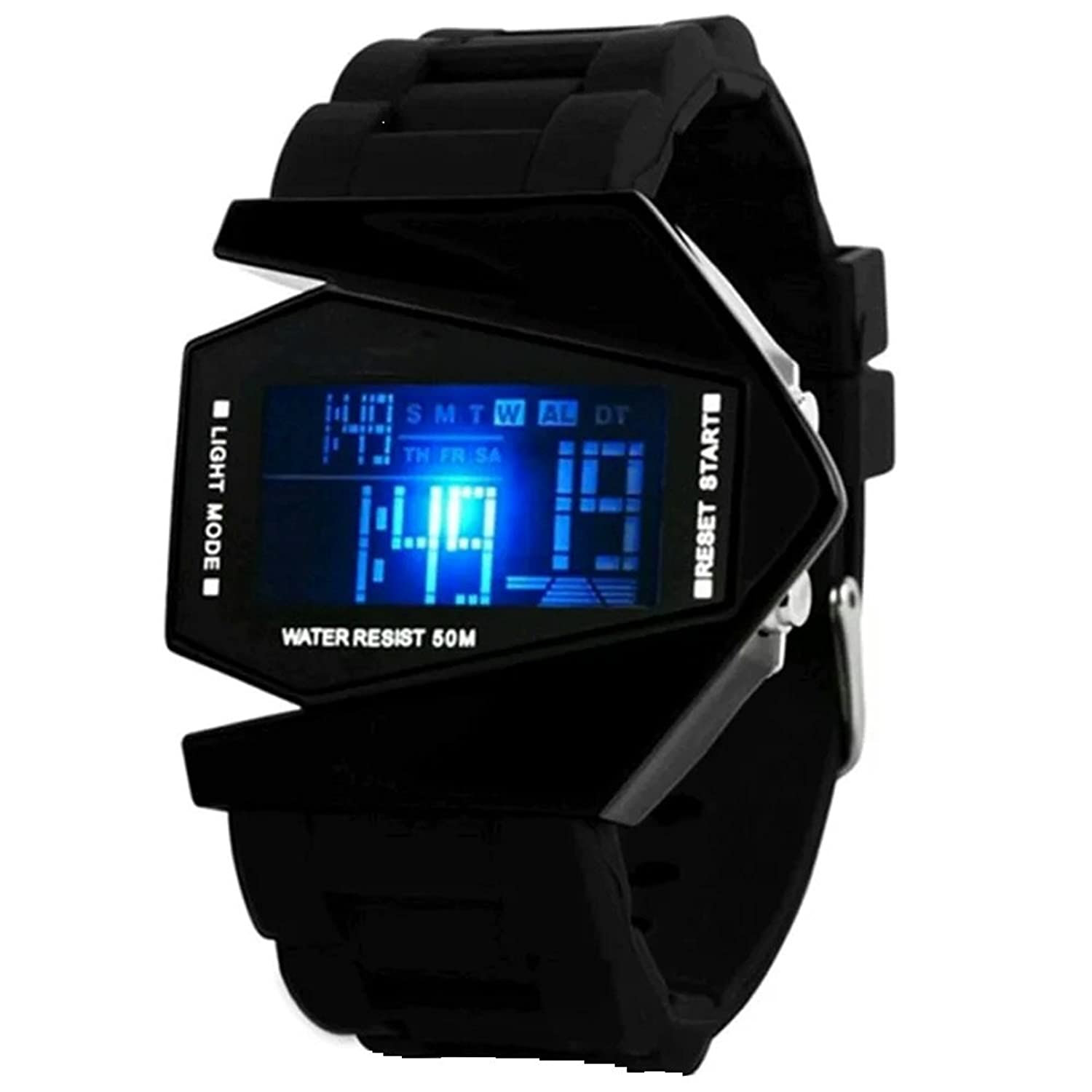Deals on Digital Black Dial Boy's And Men's Watch