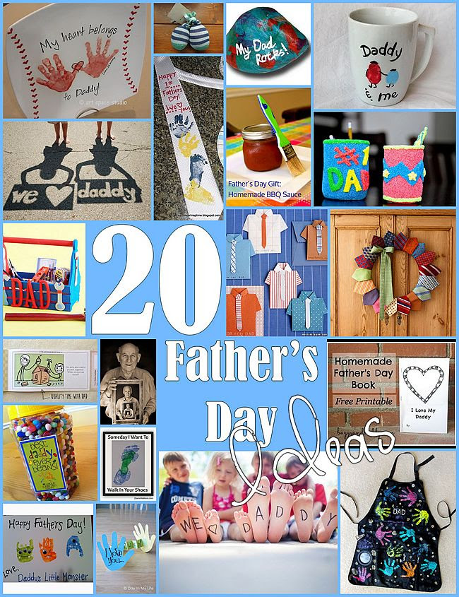 20 Handmade Fathers Day Gifts For Kids Diy Real