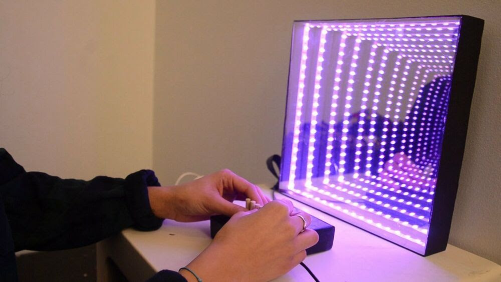 "TWO WAY INFINITY MIRROR FILM 20"" WIDE x PER FOOT ..."