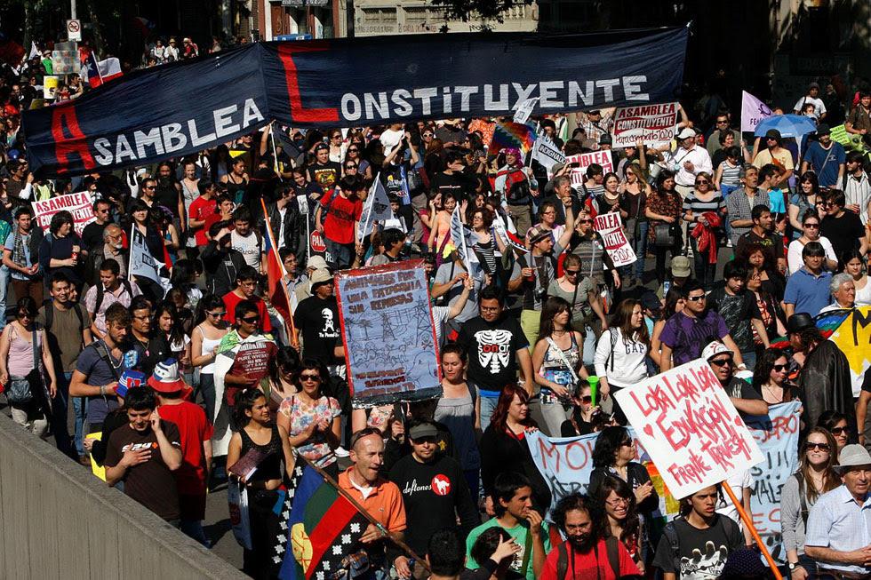 Occupy Santiago, Chile