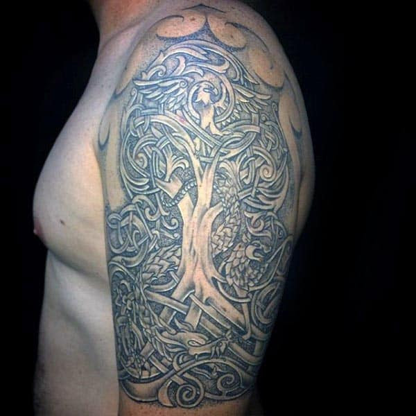 100 Tree Of Life Tattoo Designs For Men Manly Ink Ideas