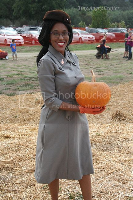 TinyAngryCrafts pumpkin patch outing