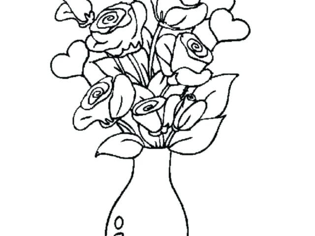 20 Latest Easy Flower Vase Pencil Drawing Beads By Laura
