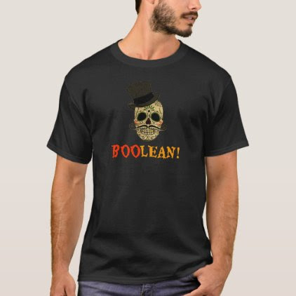 BooLean Day of The Dead Cute Shirt for Developers