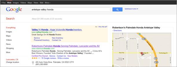 Web Design Palmdale Search Marketing