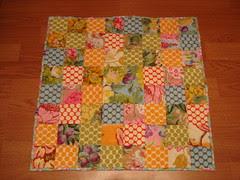 Kaffe Fassett inspired quilt
