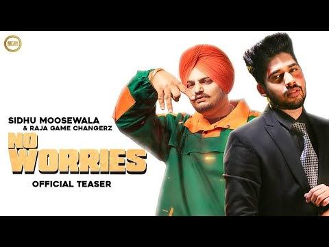 Sidhu Moosewala - NO WORRIES Lyrics feat. Raja Game Changerz