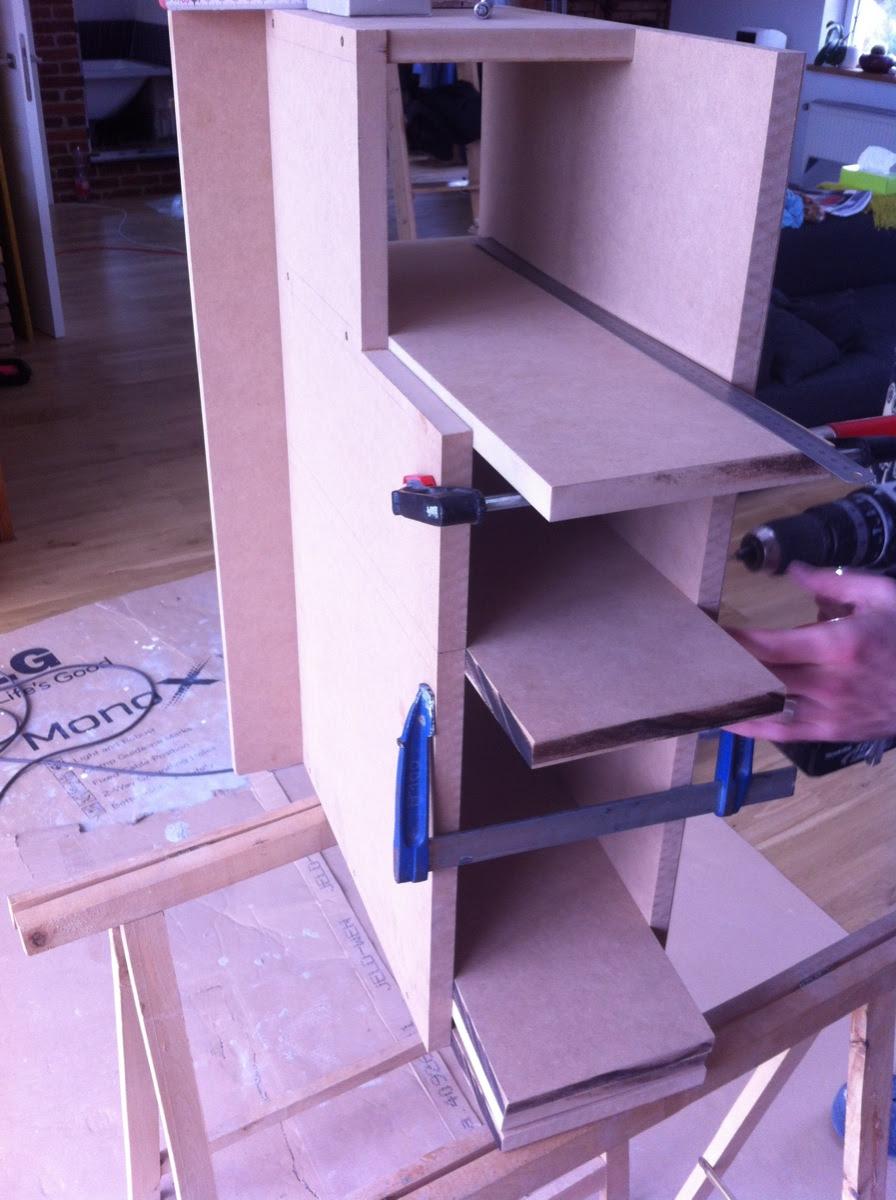 Bau eines Kuechenschraenkchens - 11