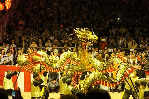 長崎くんち2012・籠町・龍踊