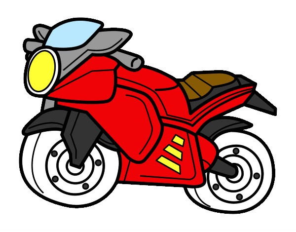 Dibujo De Moto Deportiva Pintado Por Venomman En Dibujosnet El Día