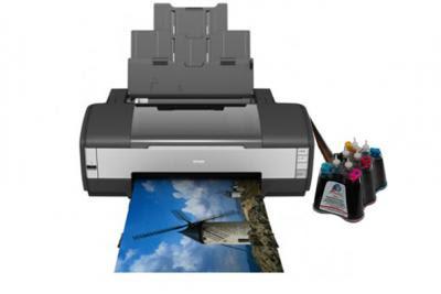 Epson Stylus Photo 1410 Inkjet Printer With Ciss Inksystem Usa