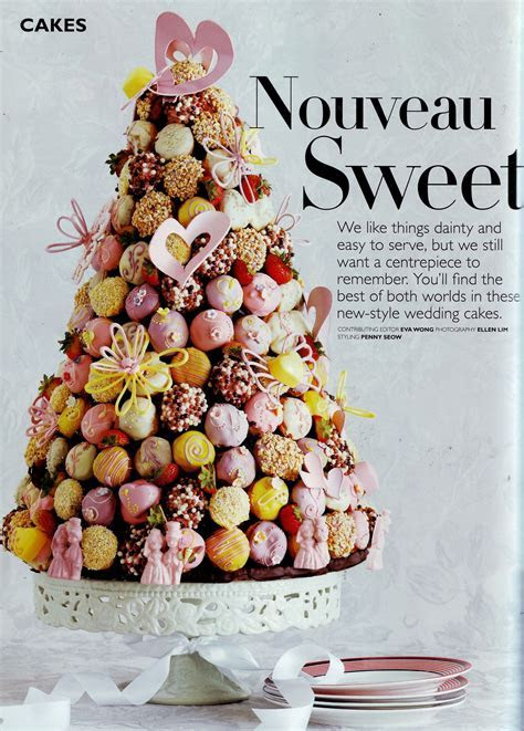Croquembouche Wedding Cake   looks like a stack of