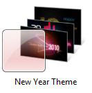 Windows 7 New Year theme 2010
