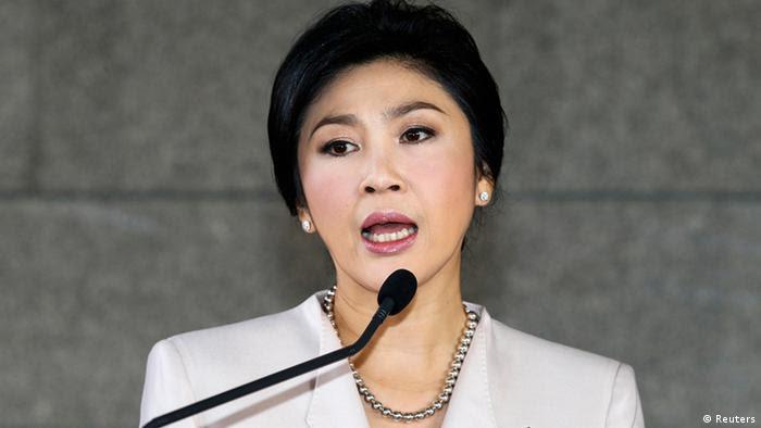 Thailand Premierministerin Yingluck Shinawatra. (Foto: Reuters)