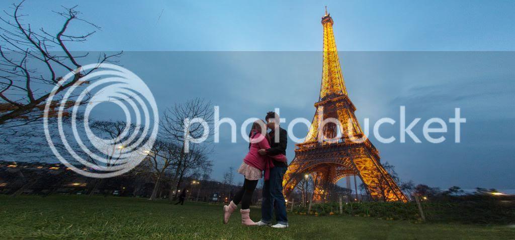 卡卡 ♥ 巴黎铁塔
