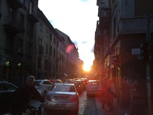 Il sole in tramonto by durishti