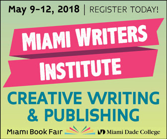 Miami Writers Institute | May 19-12, 2018 | Register Today!