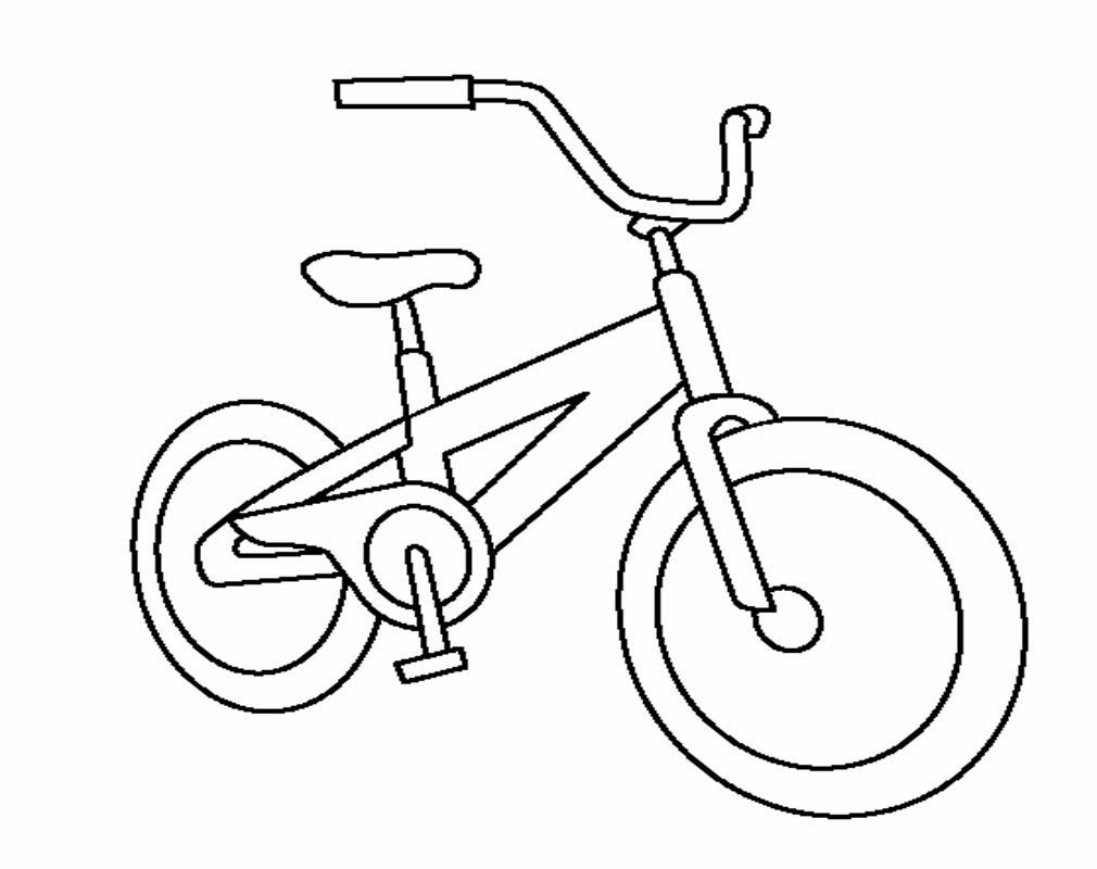 Gambar  Sepeda  Motor Untuk Mewarnai Terunik Gentong