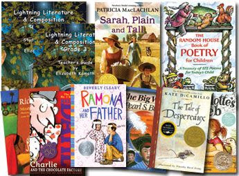 Lightning Literature & Composition Grade 3 Pack w Book of Poetry