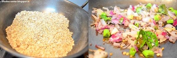 oats dosa step1