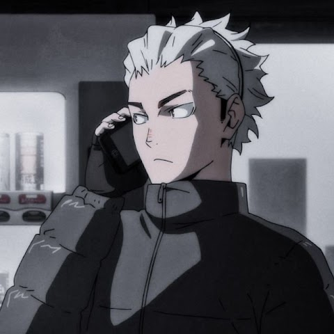 Black And White Anime Characters Haikyuu