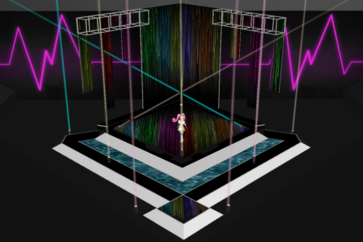MMD Eurovision Indoor Stage