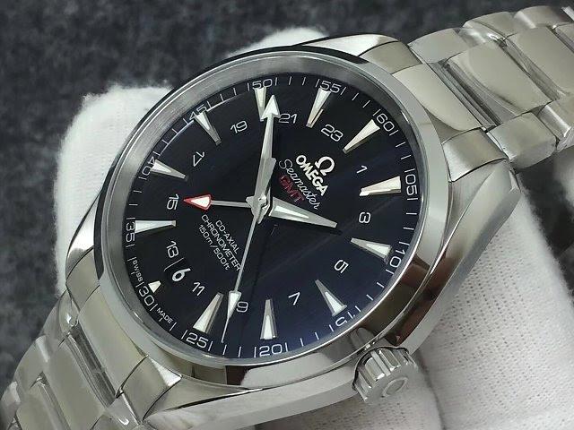 Replica Omega Aqua Terra GMT Watch