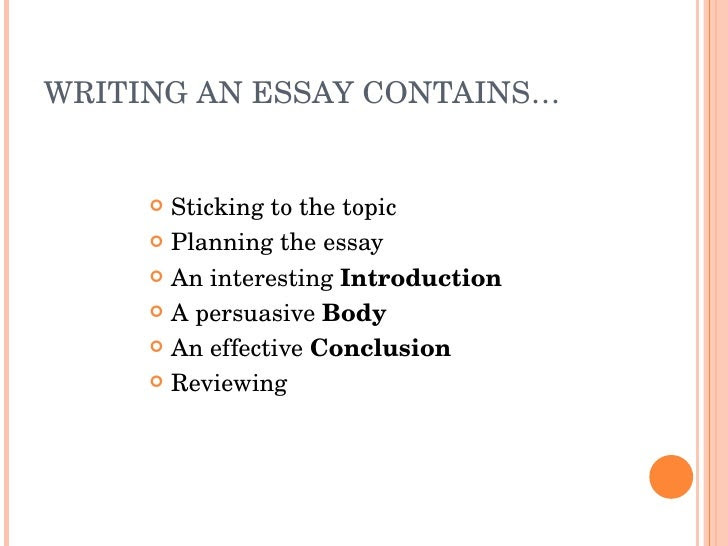 how to write a good mba essay
