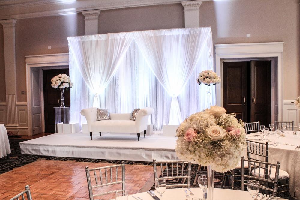 Jeffries Garden Supplies Elegant Wedding Stage Decoration