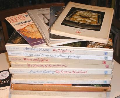 My Shenandoah Vacation Booty - Old Cookbooks