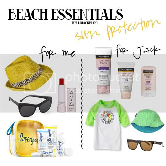 Hello Jack Blog: Beach Essentials Week - Sun Protection