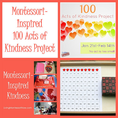 Montessori-Inspired 100 Acts of Kindness Project