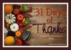 31 Days of Thanks