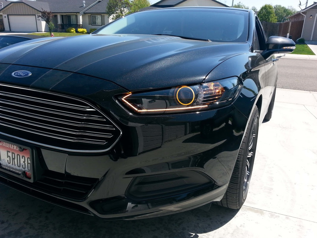 Greatest Ford 2014 Ford Fusion Headlights