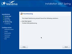 Mandriva Installation Screenshot 5