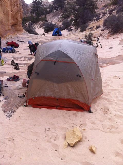 Sand Creek camp