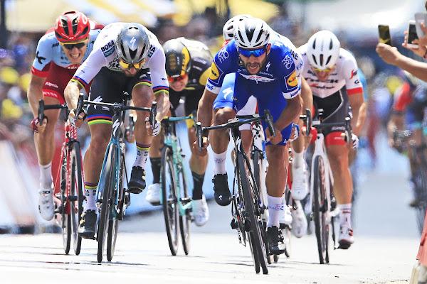 8a3b526c52700 VIDEO Sagan bol v 1. etape druhý na Tour de France 2018