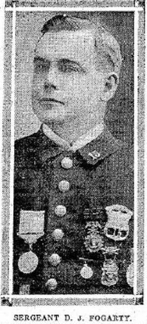 Sergeant Daniel J. Fogarty