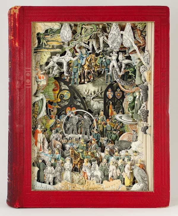 perierga.gr - Εντυπωσιακή γλυπτική τέχνη σε παλιά βιβλία!