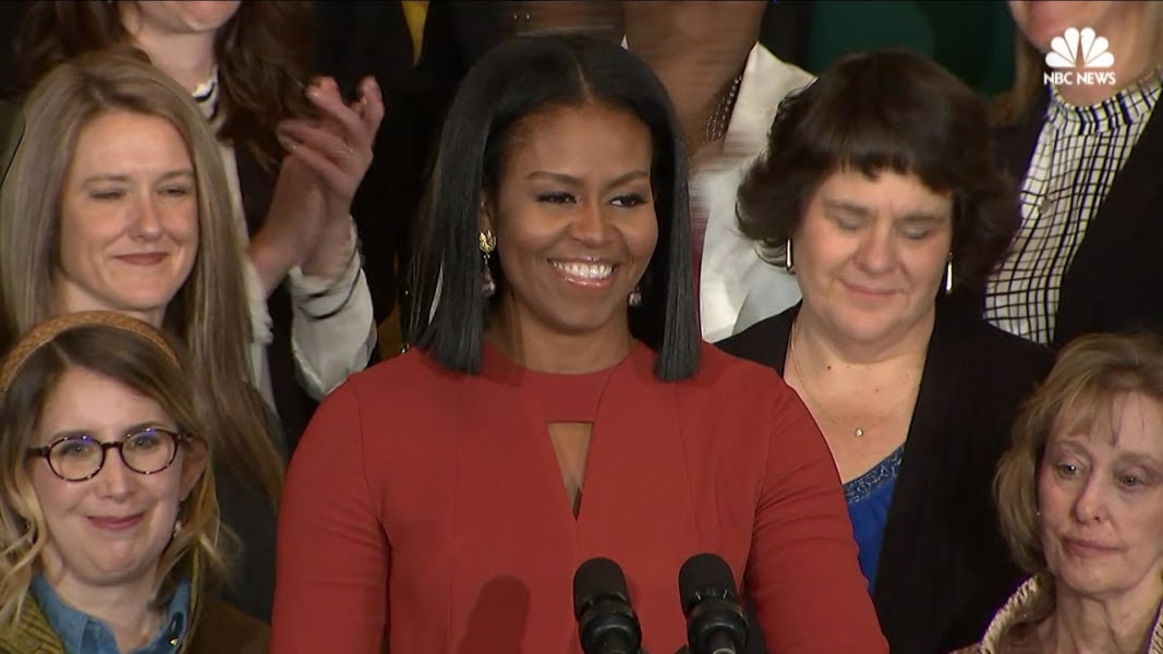 Image result for michelle obama last speech