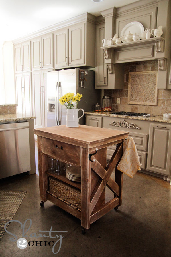 http://www.ana-white.com/2013/08/plans/rustic-x-small-rolling-kitchen-island
