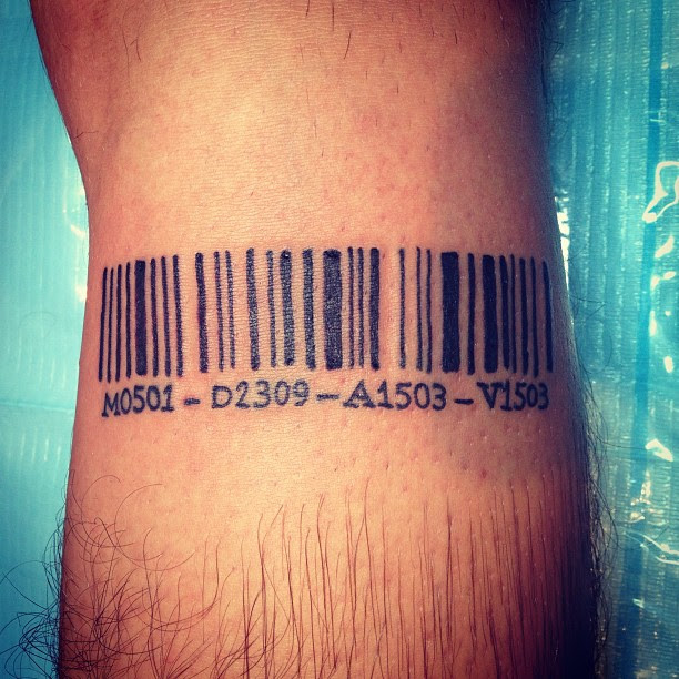25 Graphic Barcode Tattoo Meanings Placement Ideas 2018
