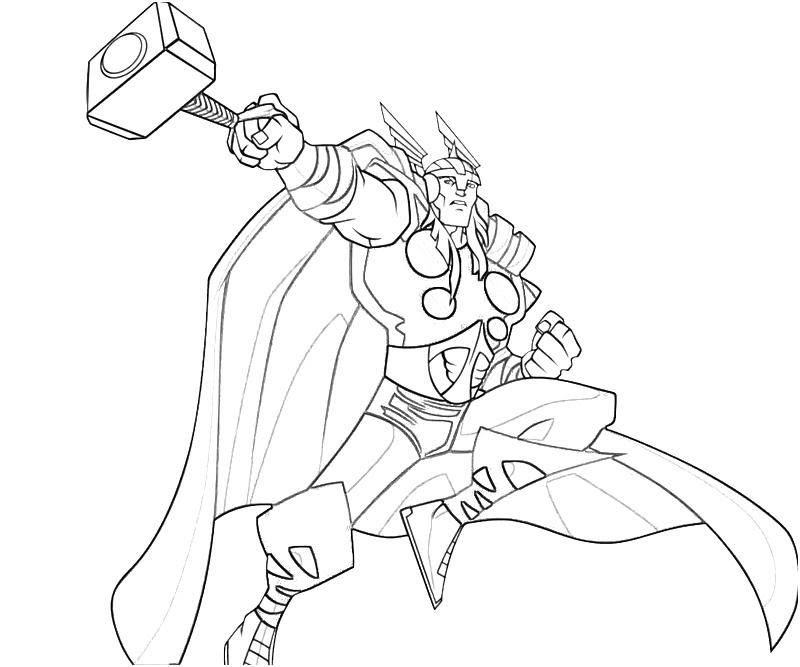 Marvel Coloring Page - Coloring Home