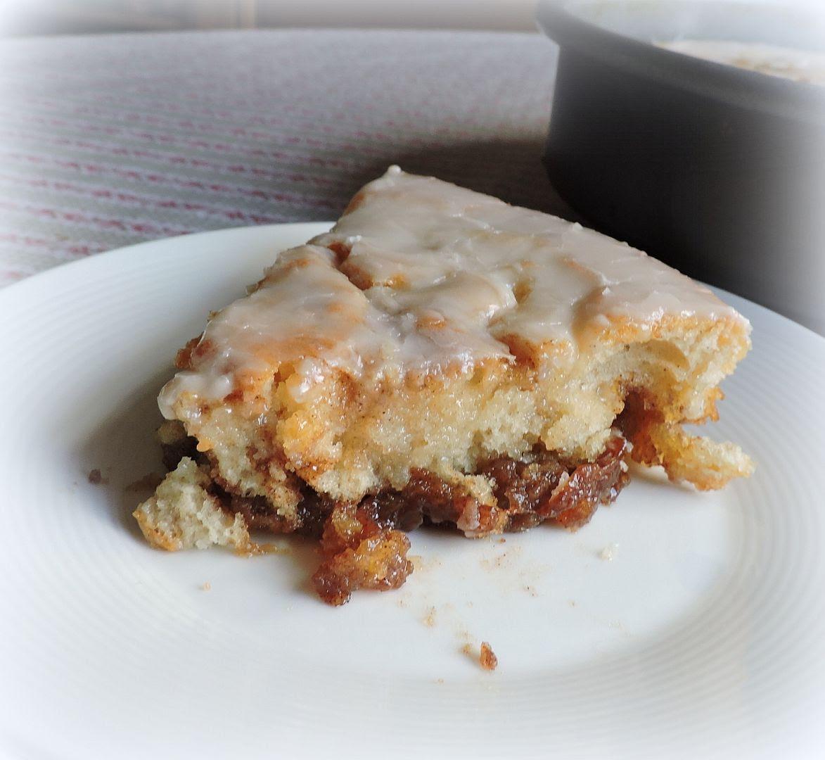 Buttery Cinnamon Bun Cake