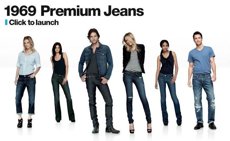 jeans en la congeladora de gap
